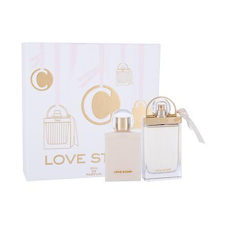 Chloé Love Story sada parfémovaná voda 75 ml + tělové mléko 100 ml pro ženy