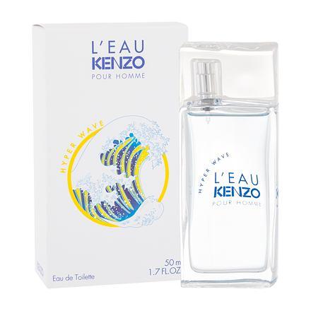KENZO L´Eau Kenzo Pour Homme Hyper Wave toaletní voda 50 ml pro muže