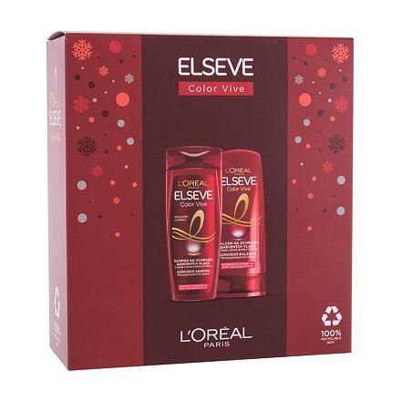 L´Oréal Paris Elseve Color-Vive sada šampon Elseve Color Vive 250 ml + balzám na vlasy Elseve Color Vive 200 ml pro ženy
