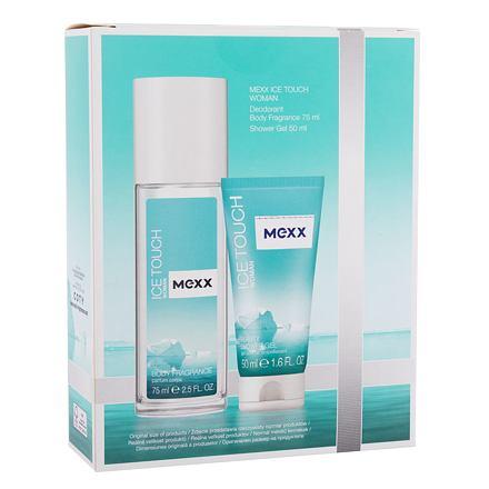 Mexx Ice Touch Woman 2014 sada deodorant 75 ml + sprchový gel 50 ml pro ženy