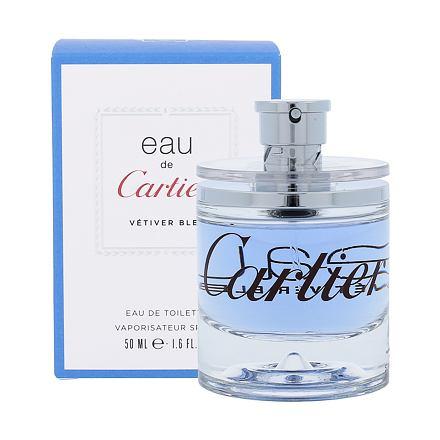Cartier Eau De Cartier Vetiver Bleu toaletní voda 50 ml unisex