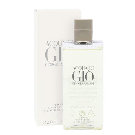 Giorgio Armani Acqua di Giò Pour Homme sprchový gel 200 ml pro muže