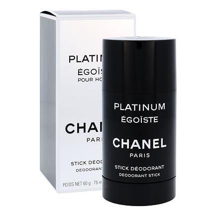 Chanel Platinum Égoïste Pour Homme deostick bez obsahu hliníku 75 ml pro muže