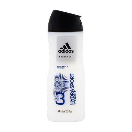 Adidas Hydra Sport 3in1 sprchový gel 400 ml pro muže