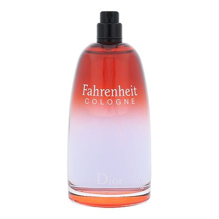 Christian Dior Fahrenheit Cologne kolínská voda 125 ml Tester pro muže