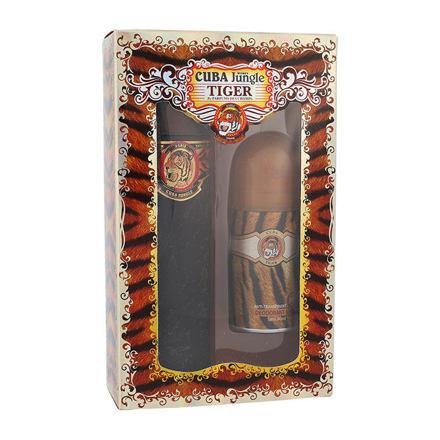 Cuba Tiger sada parfémovaná voda 100 ml + deodorant 50 ml pro ženy