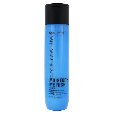 Matrix Total Results Moisture Me Rich šampon pro hydrataci vlasů 300 ml pro ženy