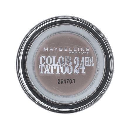 Maybelline Color Tattoo 24H krémové oční stíny 4 g odstín 40 Permanent Taupe pro ženy