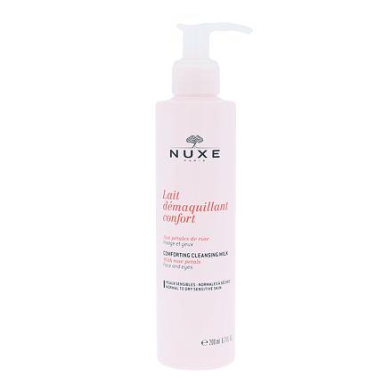 NUXE Rose Petals Cleanser čisticí mléko pro suchou až normální pleť 200 ml pro ženy