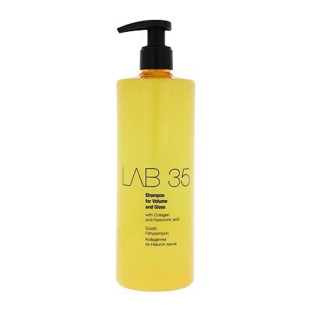 Kallos Cosmetics Lab 35 šampon pro jemné vlasy bez lesku 500 ml pro ženy