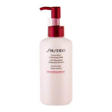 Shiseido Essentials Extra Rich čisticí pleťové mléko pro suchou pleť 125 ml pro ženy
