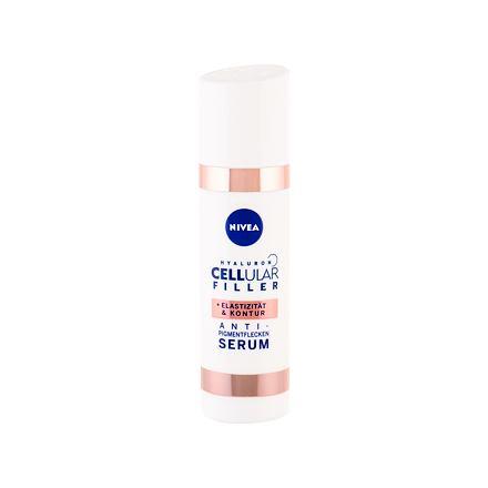 Nivea Hyaluron CELLular Filler Anti-Spot Treatment remodelační sérum proti pigmentovým skvrnám 30 ml pro ženy