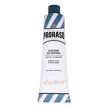 PRORASO Blue Shaving Soap In A Tube mýdlo na holení v tubě s aloe vera 150 ml pro muže