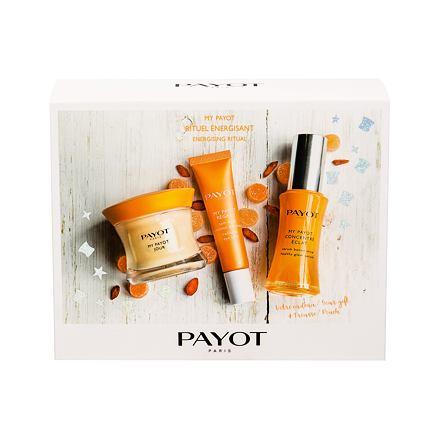 PAYOT My Payot sada denní pleťová péče 50 ml + rozjasňující pleťové sérum 30 ml + péče o oční okolí 15 ml + kosmetická taštička pro ženy