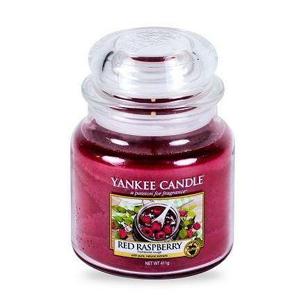 Yankee Candle Red Raspberry vonná svíčka 411 g