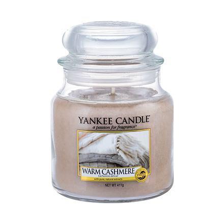Yankee Candle Warm Cashmere vonná svíčka 411 g