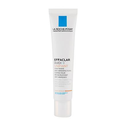 La Roche-Posay Effaclar Duo (+) korekční a obnovující krém proti nedokonalostem pleti 40 ml odstín Medium pro ženy