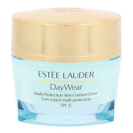 Estée Lauder DayWear Multi-Protection Anti-Oxidant 24H ochranný hydratační krém pro suchou pleť SPF15 50 ml pro ženy