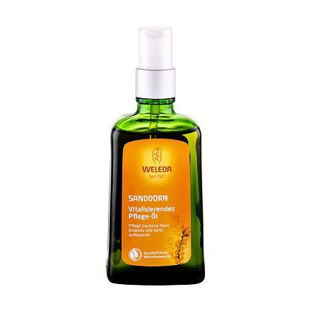 Weleda Sea Buckthorn Replenishing vyživující rakytníkový olej pro suchou pokožku 100 ml pro ženy