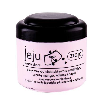 Ziaja Jeju White Body Mousse hydratační tělové pěna pro mladou pokožku 200 ml pro ženy