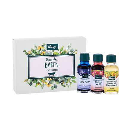Kneipp Bath Oil sada olej do koupele Lavender 20 ml + olej do koupele Arnica 20 ml + olej do koupele