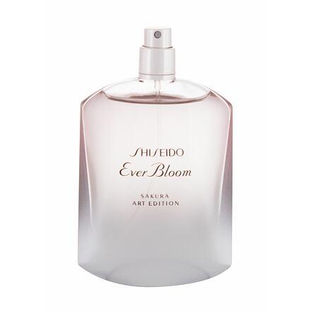 Shiseido Ever Bloom Sakura Art Edition parfémovaná voda 50 ml Tester pro ženy