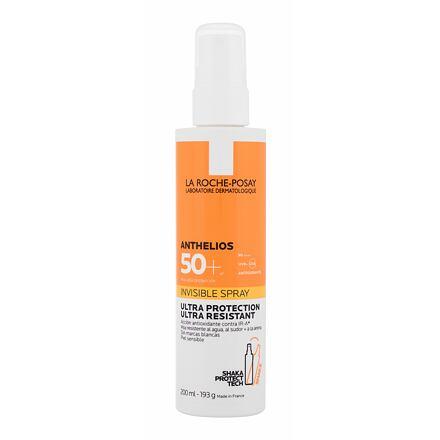 La Roche-Posay Anthelios Invisible Spray SPF50 opalovací sprej na tělo i obličej 200 ml