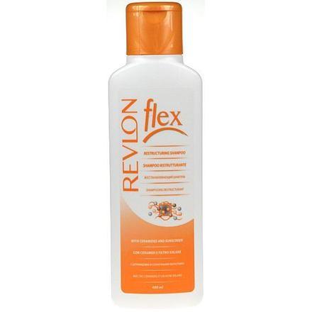 Revlon Professional Flex Restructuring šampon na poškozené vlasy 400 ml pro ženy