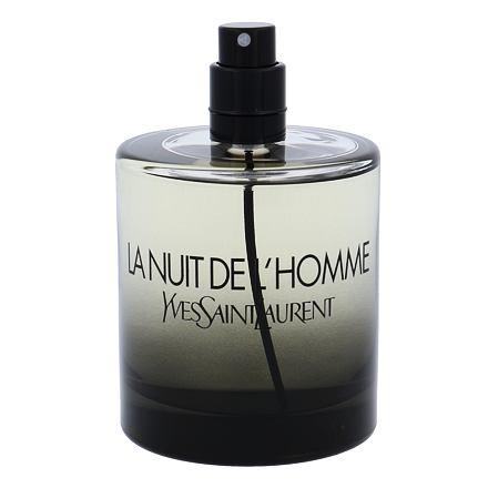 Yves Saint Laurent La Nuit De L´Homme toaletní voda 100 ml Tester pro muže