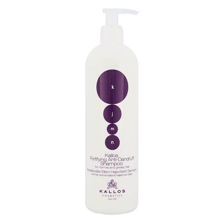 Kallos Cosmetics KJMN Fortifying Anti-Dandruff posilující šampon proti lupům 500 ml pro ženy
