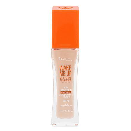 Rimmel London Wake Me Up SPF20 rozjasňující make-up 30 ml odstín 010 Light Porcelain pro ženy