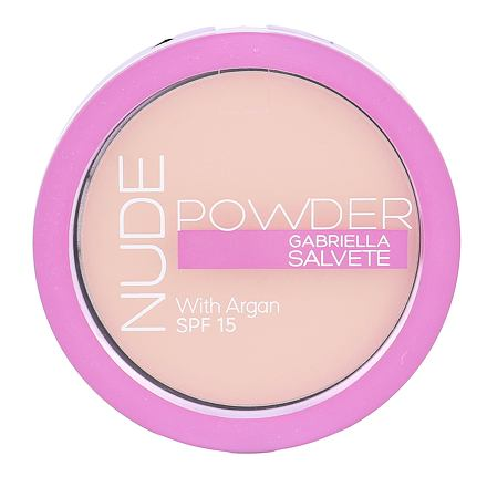 Gabriella Salvete Nude Powder SPF15 kompaktní pudr 8 g odstín 02 Light Nude