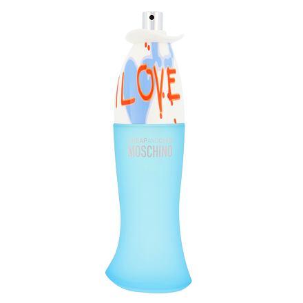 Moschino Cheap And Chic I Love Love toaletní voda 100 ml Tester pro ženy