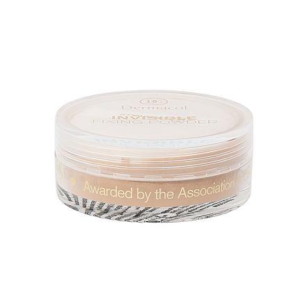 Dermacol Invisible Fixing Powder transparentní fixační pudr 13 g odstín Natural pro ženy