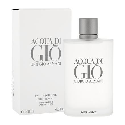 Giorgio Armani Acqua di Giò Pour Homme toaletní voda 200 ml pro muže