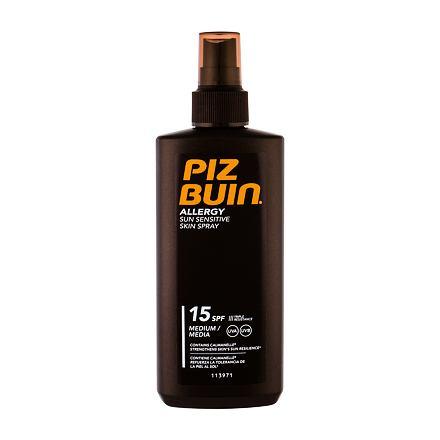 PIZ BUIN Allergy Sun Sensitive Skin Spray opalovací sprej pro citlivou pokožku SPF15 200 ml pro ženy