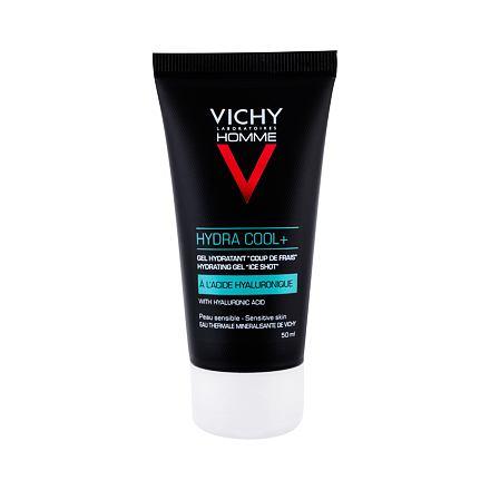 Vichy Homme Hydra Cool+ hydratační a chladící pleťový gel 50 ml pro muže