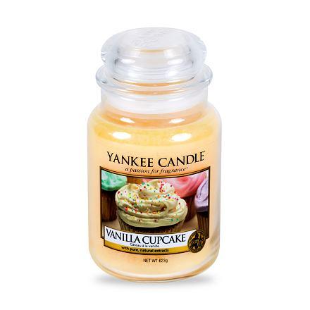 Yankee Candle Vanilla Cupcake vonná svíčka 623 g