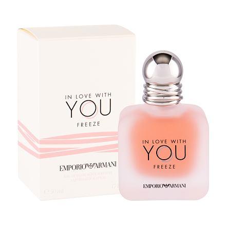 Giorgio Armani Emporio Armani In Love With You Freeze parfémovaná voda 50 ml pro ženy
