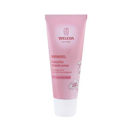 Weleda Almond Sensitive mandlový krém na ruce pro citlivou pokožku 50 ml pro ženy