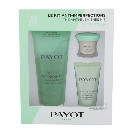 PAYOT Pâte Grise The Anti-Blemishes Kit sada noční pleťový krém Pate Grise L´Originale 15 ml + pleťo