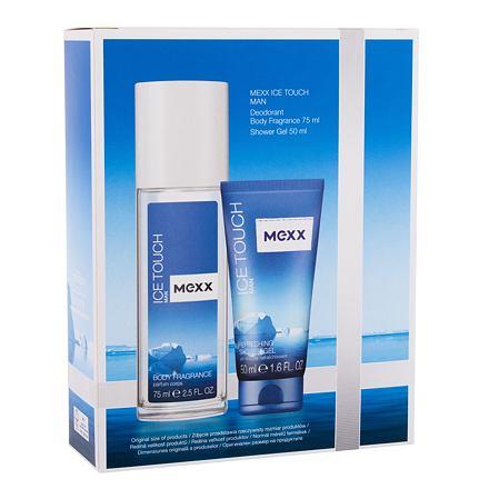 Mexx Ice Touch Man 2014 sada deodorant 75 ml + sprchový gel 50 ml pro muže