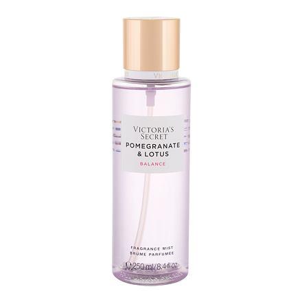 Victoria´s Secret Pomegranate & Lotus Balance tělový sprej 250 ml pro ženy
