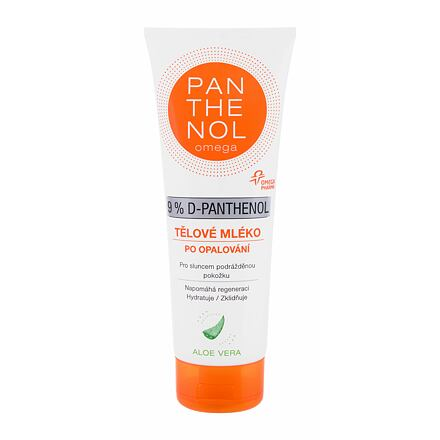 Panthenol Omega 9% D-Panthenol After-Sun Lotion Aloe Vera zklidňující tělové mléko po opalování 250