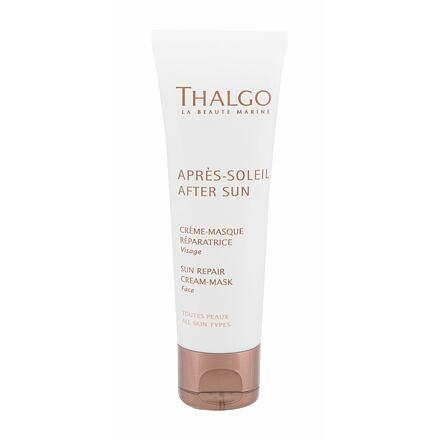 Thalgo After Sun Sun Repair Cream-Mask krémová maska pro regeneraci sluncem spálené pokožky 50 ml