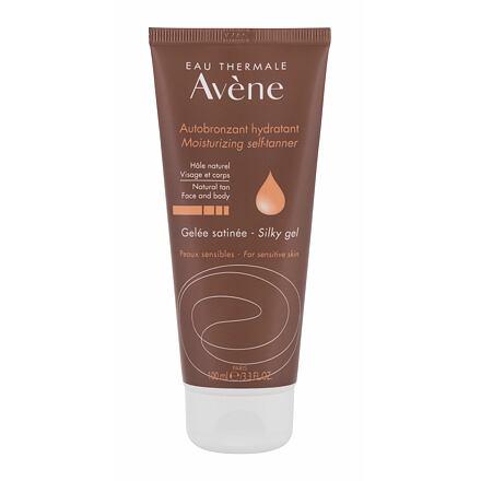 Avene Moisturizing Self-Tanner Silky Gel samoopalovací gel na tělo i obličej 100 ml pro ženy