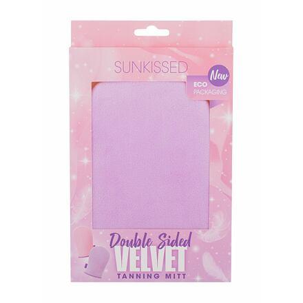 Sunkissed Mitt Velvet Double Sided rukavice k nanášení samoopalovacích přípravků 1 ks pro ženy