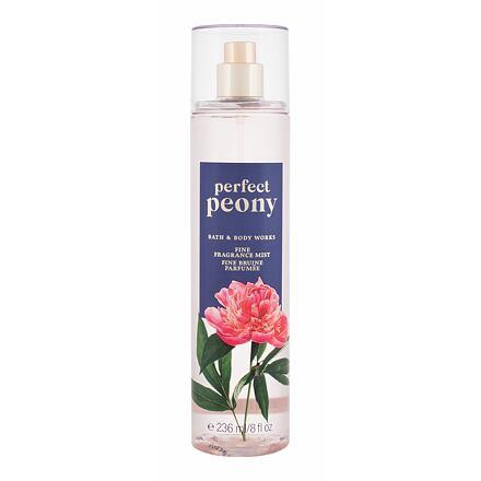 Bath & Body Works Perfect Peony tělový sprej 236 ml pro ženy
