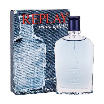 Replay Jeans Spirit! For Him toaletní voda 75 ml pro muže