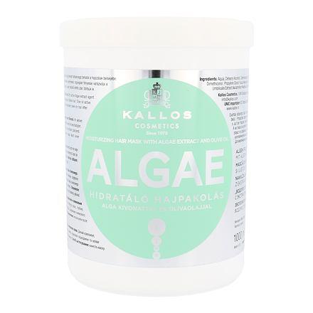 Kallos Cosmetics Algae posilující maska pro poškozené vlasy 1000 ml pro ženy
